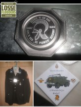 De vader van Jeroen Boon was korporaal Genie Verbindingstroepen in Seedorf. Uit zijn collectie een reünieschild van de Korporaalsvereniging (1986), een legertenue en herdenkingstegel van het Onderhoudspeloton 41 Gnbat (jaartal onbekend).