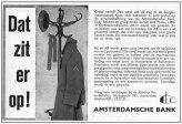 Personeelsadvertentie Amsterdamsche Bank