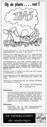 Personeelsadvertentie De Nederlanden van 1845 #1